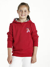 Harry Hall Kids Childs Eskdale Hoody Red Age 9 - 10 years, Age 11 - 12 years