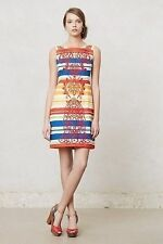 NWT ANTHROPOLOGIE BANDED TOTEM SHIFT DRESS by TABITHA 8