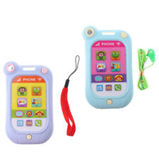 Creative Cartoon Music Phone Baby Toy Mobile Educational Learn Electric Gift