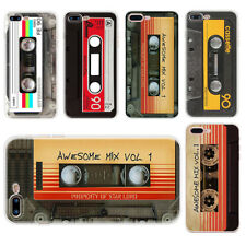 Cassette Tape Style Rubber Slim TPU Phone Case Cover For Iphone 6 6S 7 8 PLUS 5