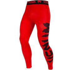 Venum Giant Ultra Light Dry Tech MMA Compression Spats - Red/Black