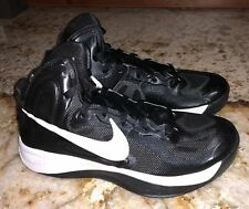 NIKE Zoom Hyperfuse Team Black White Basketball Shoes Sneakers NEW Womens Sz 6.5