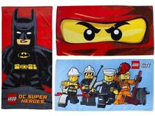 LEGO DC SUPER HERO KAPOW BATMAN NINJAGO EYES CITY HEROES KIDS TOWELS OFFICIAL