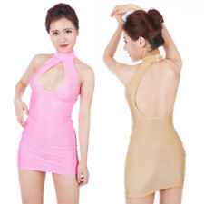 Sexy Women's Lingerie Hollow Out Party Clubwear Bodycon Backless Mini Dress