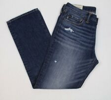 New Abercrombie & Fitch Men's Classic Straight Jeans Size 32X30, 32X34