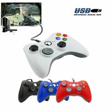 4 Colors WIRED OR WIRELESS CONTROLLER FOR MICROSOFT XBOX 360 PC WINDOWS SW