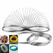 Wholesale 100loops Memory Wire for Bracelet Bangle Cuff Diameter 60mm Free-shi