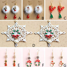 Jewelry Crystal 1 Pair Christmas Series Christmas Earring Women Earring Fashion