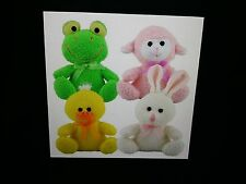 YOUR CHOICE!!  QUILT and/or DOLL PATTERNS - FROGS, LAMBS, BUNNY RABBITS & DUCKS