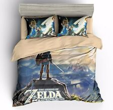 3D Print The Legend of Zelda Game Duvet Cover Sets Zip Quilt Cover Pillow Case