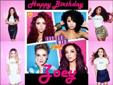 A4 LITTLE MIX EDIBLE PHOTO CAKE TOPPER PERSONALISED EDIBLE ICING PHOTOS ITEM513