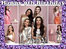 A4 LITTLE MIX EDIBLE PHOTO CAKE TOPPER PERSONALISED EDIBLE ICING PHOTOS ITEM517