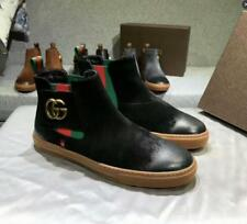 NEW Men's Fashion Suede Ankle Boot Shoes High Top Punk Leather Sneakers Retro