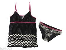MISSONI FOR TARGET CAMI PANTY SET BLACK XS EXTRA SMALL, S SMALL, L LARGE