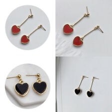 Long Section Earring Fashion Long Dangle Chain   Heart Love Women Retro Jewelry