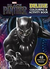 Marvel Black Panther: Deluxe Colouring and Activity Book Paperback Book Free Shi
