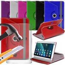 """Leather 360° Rotating Stand Tablet Case + 9H Glass for Asus Google Nexus 7 (7"""")"""
