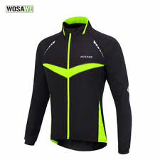 Mens Thermal Winter Cycling Jacket Windproof Water Resistant Bicycle Sports Coat