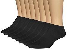 AirStep Men's Athletic No Show Socks Arch Support - 8 Pack