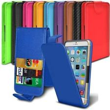 "PU Leather 3 Card Slot Magnetic Clamp Flip Case Cover for Amigoo MG100 (5.5"")"