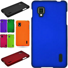 Slim Hard Snap On Rubberized Phone Cover Case for LG Optimus g Eclipse 4G
