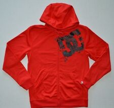 Men's DC Shoes Polyester Zip Front Hoodie Jacket