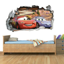 Disney Cars Planes Smashed Wall Art Vinyl Decal Stickers Home Decor Boys Girls