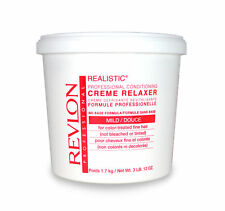 Revlon Realistic No-Base Conditioning Creme Relaxer Mild 60 Oz