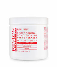 Revlon Realistic No-Base Conditioning Creme Relaxer Mild 15 Oz