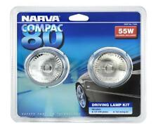 Narva Compac 80 Oval Driving Lamp Kit - 12 Volt 55W 80mm Wide 71830 Free Shippin