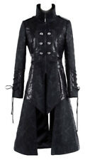 Long jacket gothic black with pan removable y-376 Punk Rave