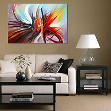 Wall Art Canvas Hand Oil Painting Modern Abstract Decorative Home Living Room