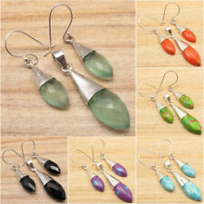 Highly Polish Earrings & Pendant SET, 925 Silver Plated Fashion Jewelry
