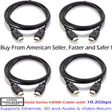 Premium HDMI Cord Cable 6ft 1.8M For BLURAY 3D DVD PS3 HDTV XBOX LCD HD TV 1080P