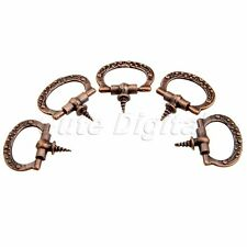5/10pcs Antique Copper Pull Handle Knobs For Jewelry Box Cabinet Dresser Drawer