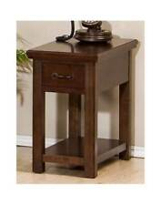 Chairside Table in Lightly Distressed Finish [ID 3162563]