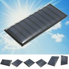 2/5/5.5/6/9V DIY Solar Panel Module System Toy For Battery Cell Phone Charger T〃