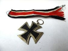 1813-1939 German Military Iron Cross with Ribbon
