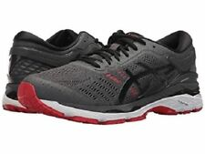 ASICS GEL KAYANO 24 DARK GREY BLACK FIERY RED MENS RUNNING SHOES *FREE POST AUST