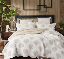 French Country Style Bed Quilt CALVADOS New Coverlet incl 2 pillowcases