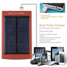 Lot 1X-10X Solar Power Bank Battery Charger Dual USB For Mobile Phone PDA MP3 BB