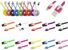 CHARGER CABLE SYNC MICRO USB 1M SAMSUNG 10 COLOR NOKIA LG HTC SONY BLACKBERRY