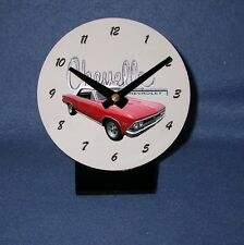 NEW 1966 Chevy Chevelle Desk Clock! (multiple colors available)
