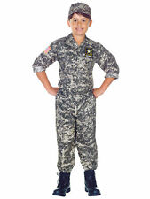 Army Camo Military Soldier Commando Seal Team Book Week Boys Costume