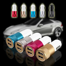12V Dual Port USB 3.1A Car Charger Adapter For Mobile iPhone iPad Samusng HTC