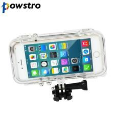 Waterproof Shockproof Phone Case with Action Cam Mount For iPhone