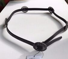 Urban Outfitters Leather Silver Medallion Women's Belt  NWT