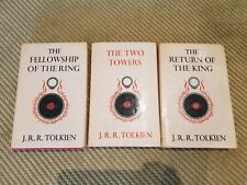 TOLKIEN: THE LORD OF THE RINGS -  1st EDITION COMPLETE TRILOGY