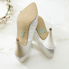 WEDDING SHOE STICKERS FOR BRIDE & GROOM!! FREE SHIPPING!!!