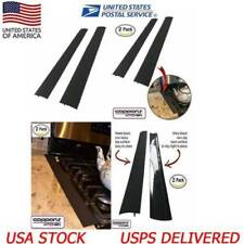 2Pc Silicone Kitchen Stove Counter Gap Cover Oven Guard Spill Seal Filler